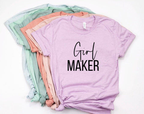 Girl Maker Shirt in Curvy Size