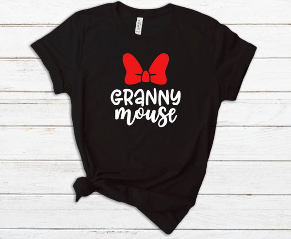 Mimi Mouse shirt for Women - Disney Ladies tshirt, Disney Nana, Auntie, Granny, Sissy Mouse Shirt, Disney World shirt, Vacation