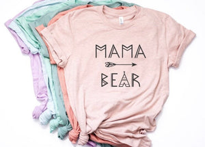 Mama Bear Shirt for Women