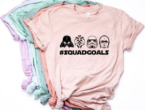 Star Wars Squad Goals Shirt for Women
