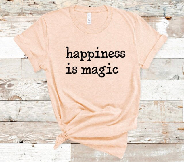Happiness is Magic Shirt in Curvy Size