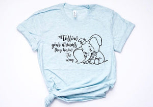 Follow Your Dreams They Know The Way Shirt