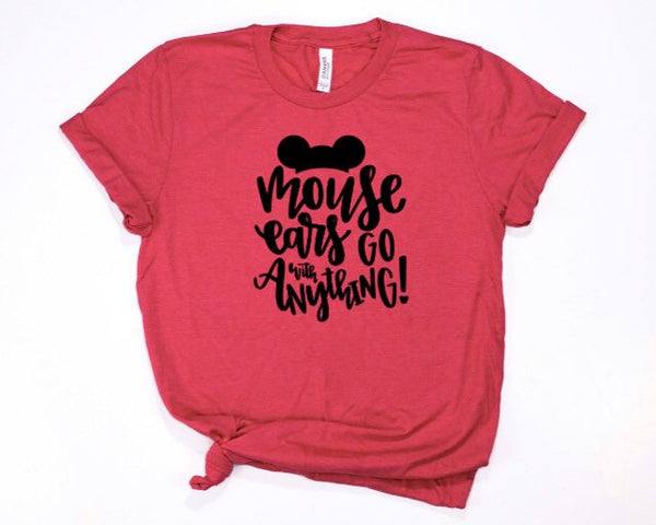 Mouse Ears Go With Anything Shirt