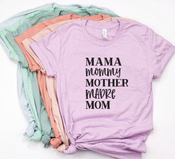 Mama Mommy Shirt for Women
