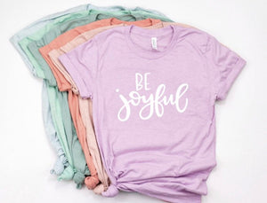 Be Joyful Shirt in Curvy Size