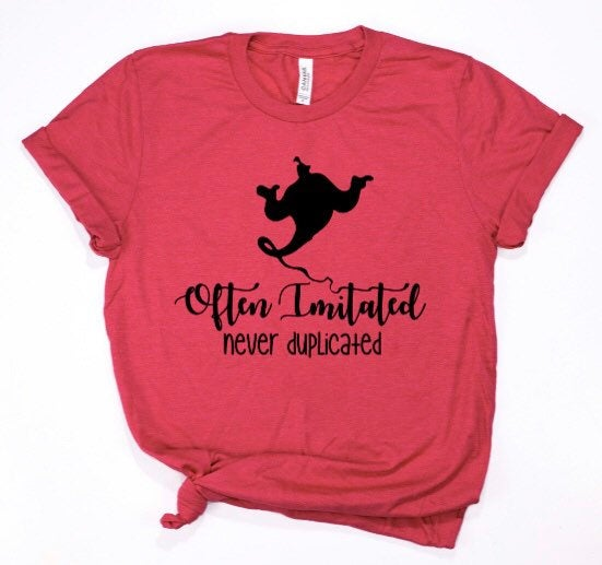 Often Intimidating Never Duplicated shirt