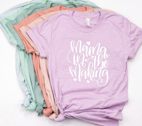 Mama In The Making Shirt