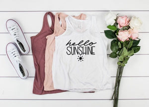 Hello Sunshine Tank Top