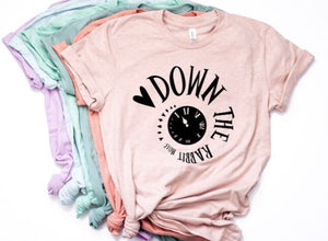 Down the Rabbit Hole Shirt