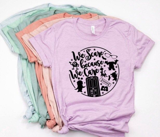 We Scare Because We Care shirt