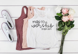 Made to Worship Tank Top