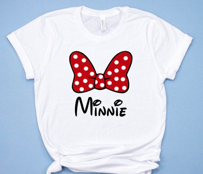 Minnie Big Bow shirt for Women