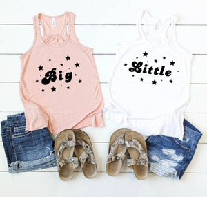 Sorority Big Little Star Tank Top