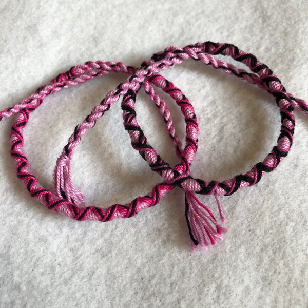 Woven Cotton Thread Bracelet