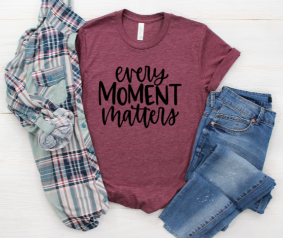 Every Moment Matters Shirt in Curvy Size