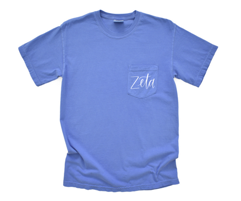 Zeta Shirt in Comfort Colors
