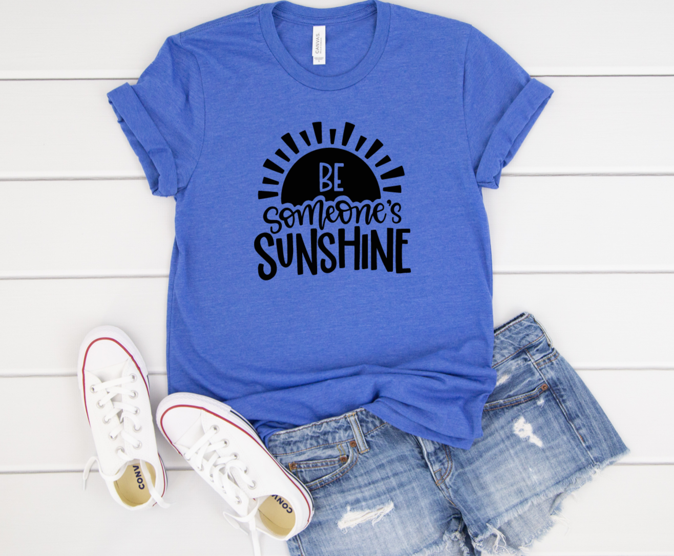 Be Someones Sunshine Shirt in Curvy Size