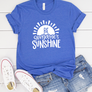 Be Someone's Sunshine Shirt in Curvy Size