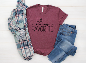 Fall Is My Favorite Shirt in Curvy Size