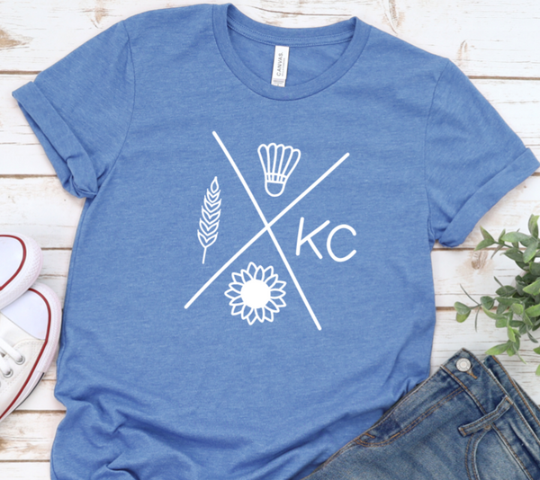 Kansas City Symbol Shirt in Curvy Size