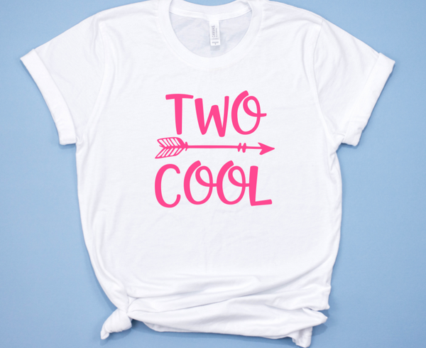 Two Cute Birthday Shirt for Girls