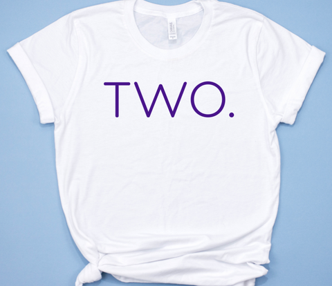 Two Birthday Shirt for Girls