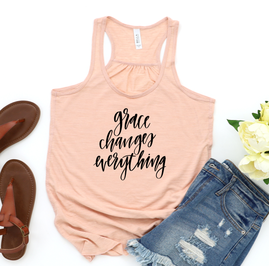 Grace Changes Everything Tank Top