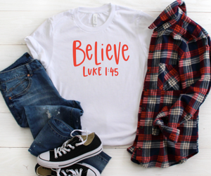 Believe Shirt for Kids