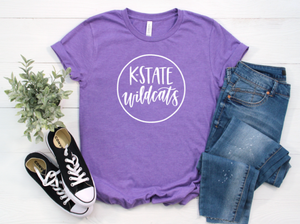 K-State Wildcats Shirt in Curvy Size