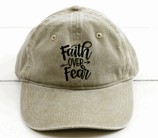 Faith Over Fear Hat
