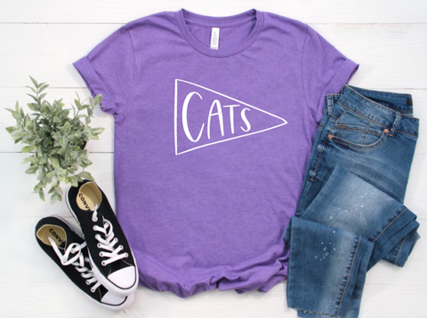 K-State University Cats Shirt in Curvy Size