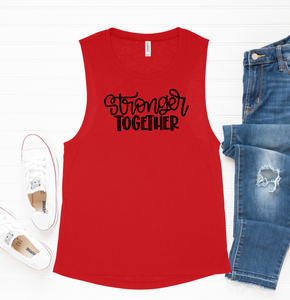 Stronger Together Muscle Tank
