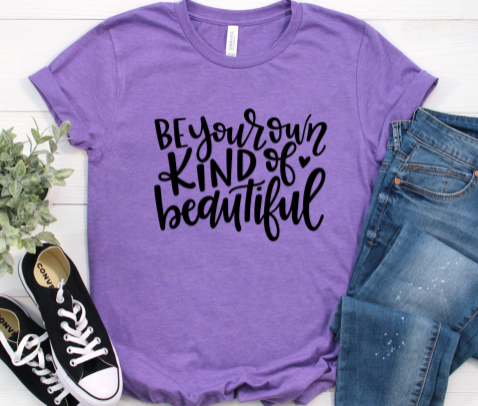 Be Your Own Kind Of Beautiful for Women in Curvy Size