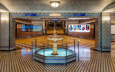 interior lobby of Altria Theater