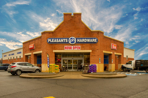The exterior of the Hanover Pleasants Hardware Store