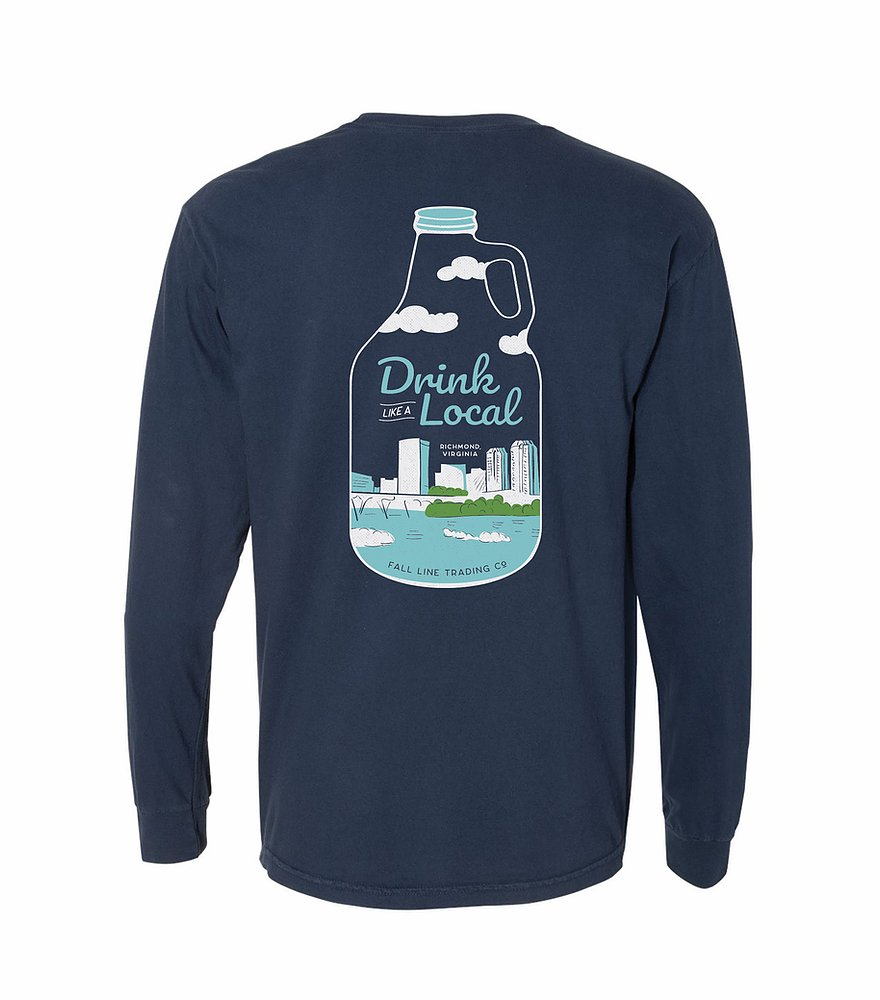 Drink Like a Local Pocket Tee