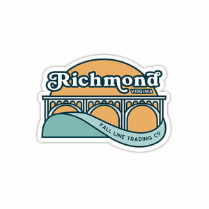 Richmond, VA Sticker