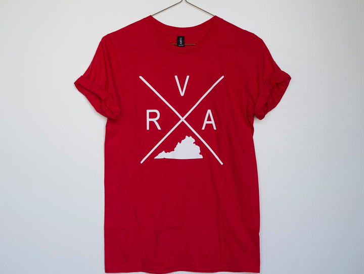 RVA Cross in Red