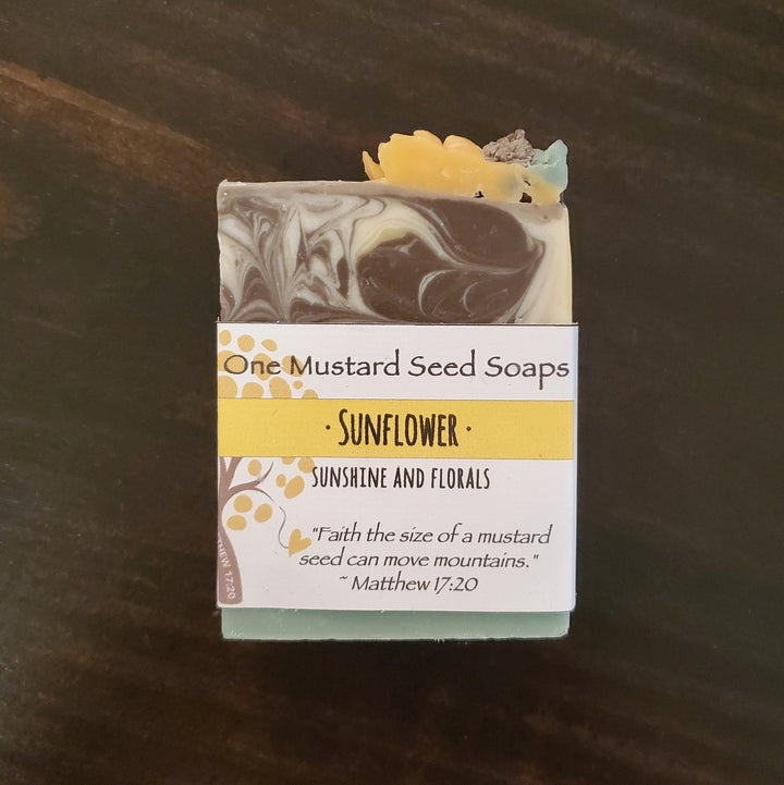 """Sunflower"" Soap Bar"