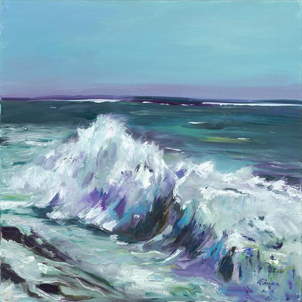 Kathy Rivera Title: Crashing Waves