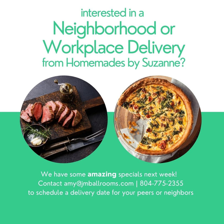 Catering for Neighborhoods and Workplaces