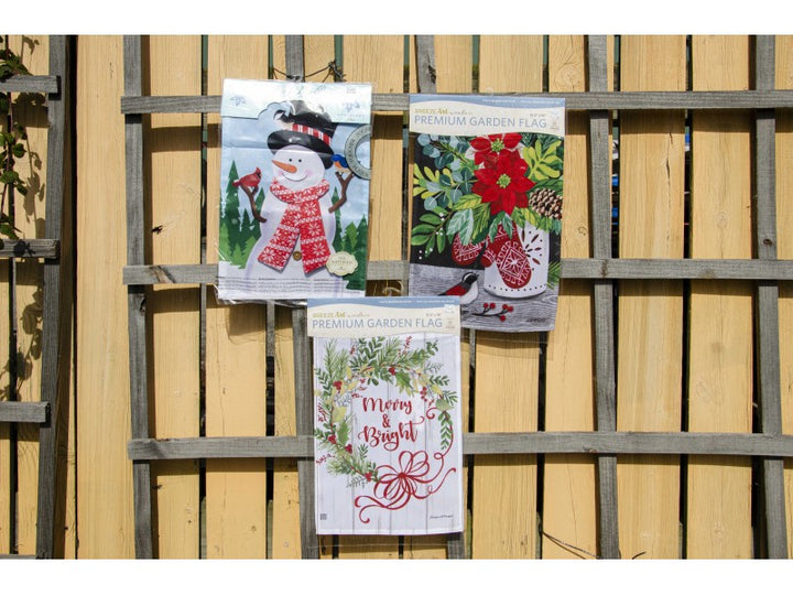 Holiday Garden Flag