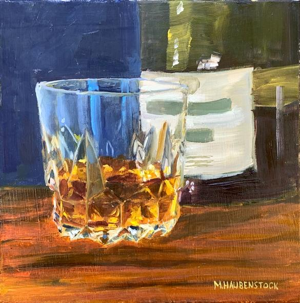 Mike Haubenstock Title: Whisky Glass