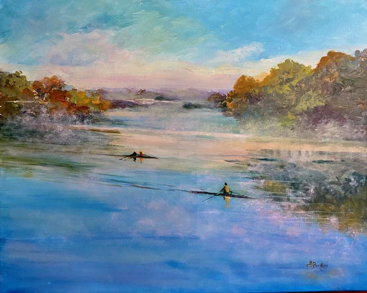 Bev Perdue Title: Fog On James River