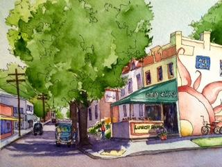 Marti Franks, Title: Cary St. Cafe