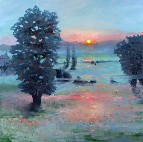 Elizabeth Longstreet Titmus Title: Morning Glow