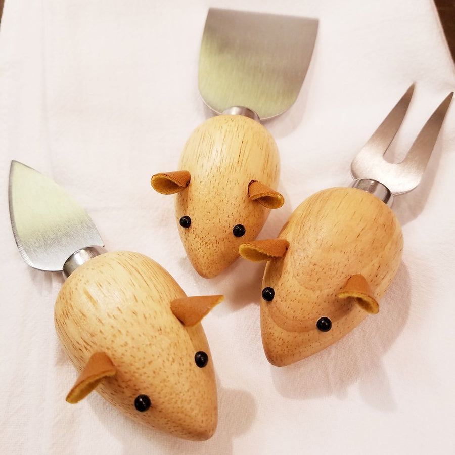 Mice Cheese Knives