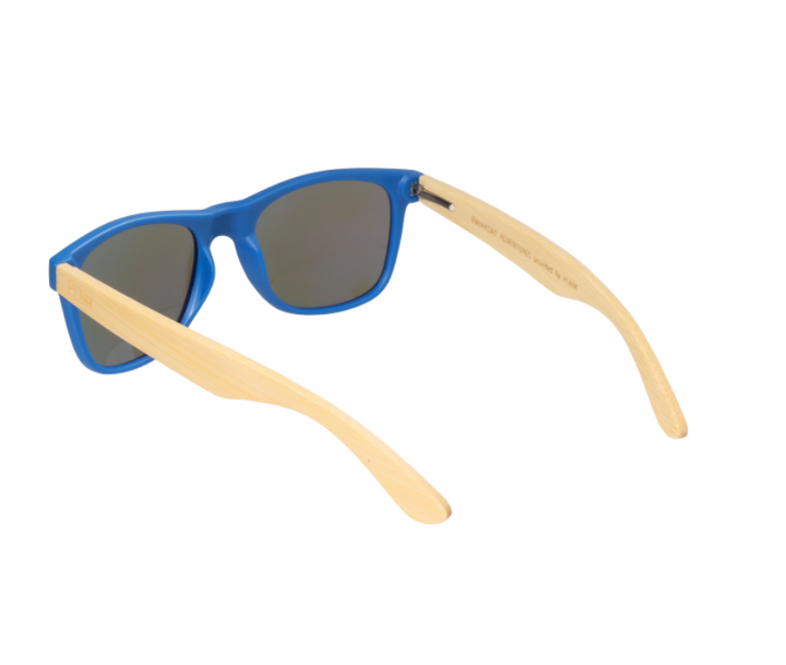 Matoaka Bamboo - Blue Frame with Blue Lens