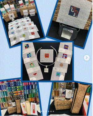 Simple Self-finishing needlepoint kits