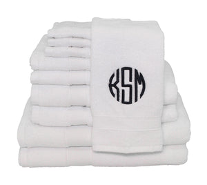 Luxury 8-Piece Cotton Towel Set